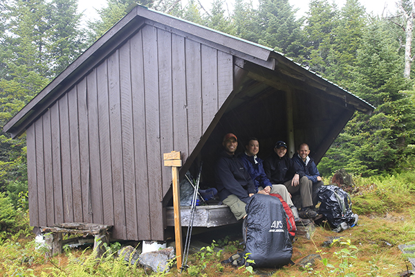 Panorama Shelter, Cohos Trail (between NH 26 and Coleman State Park)