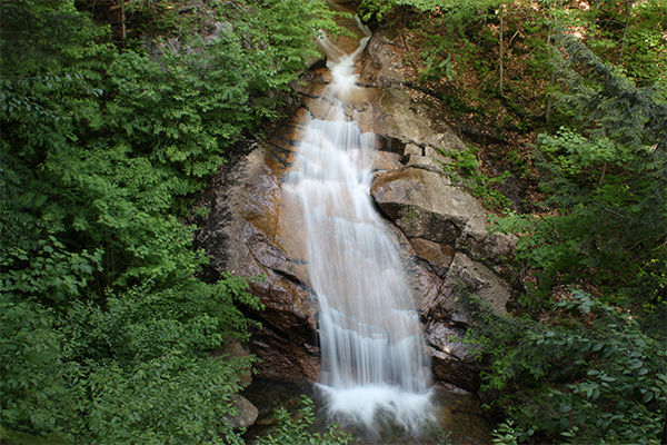 Liberty Gorge Cascade, Falls on the Flume-Pool Loop, New Hampshire