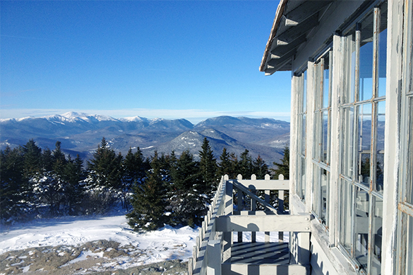 firetower atop Kearsarge North
