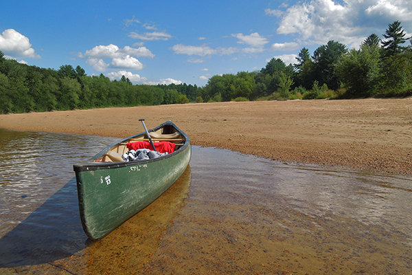 canoeing the Saco River