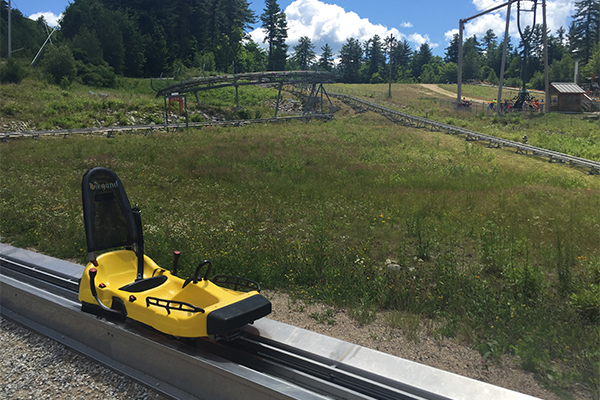 Cranmore's Mountain Coaster