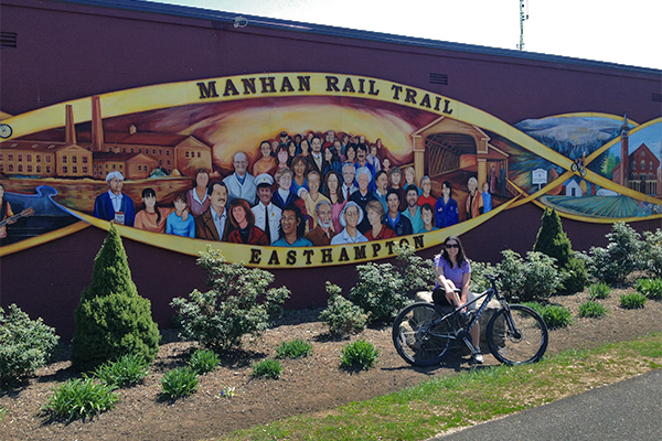 Manhan Rail Trail in Easthampton
