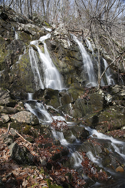 Waterfall On The Cathles Trail, Connecticut