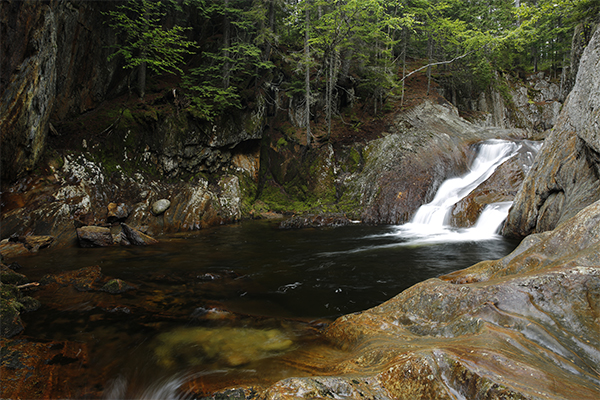 Chandler Mill Stream Falls, Maine