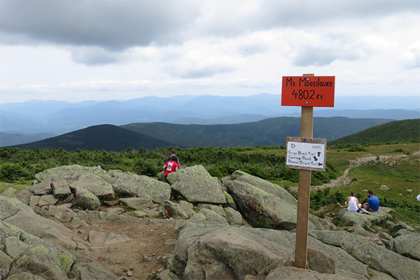 summit of Mt. Moosilauke, New Hampshire