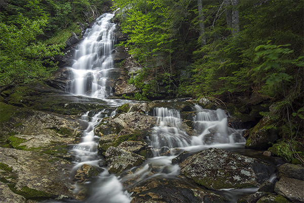 Beaver Brook Cascades, New Hampshire