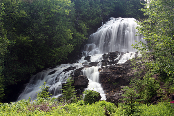 Beaver Brook Falls, Colebrook, New Hampshire