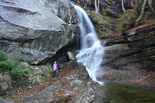 Bridal Veil Falls, New Hampshire
