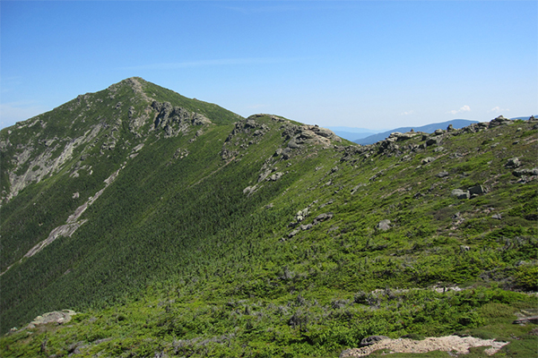 Mt. Lincoln as seen from Little Haystack Mountain, New Hampshire