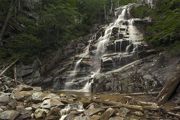 Falls On The Falling Waters Trail, New Hampshire