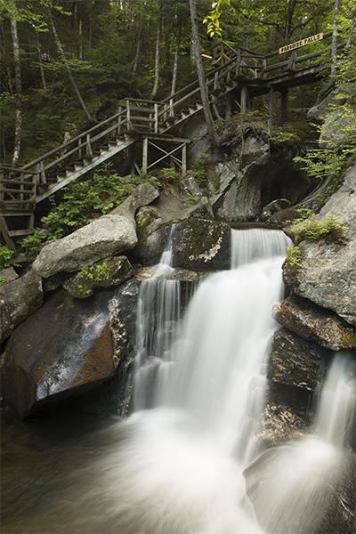 Paradise Falls, The Lost River, New Hampshire