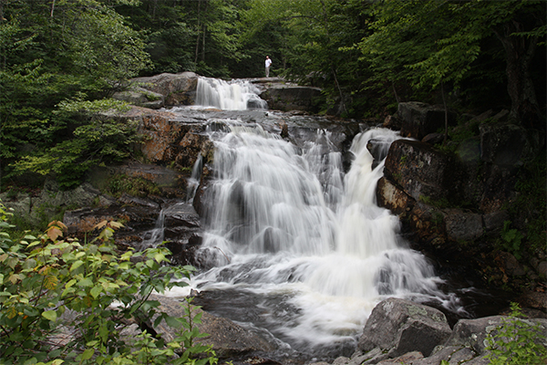 Stepped Falls, New Hampshire