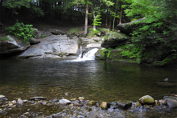 Bellevue Falls (Best Swimming Holes in New England)