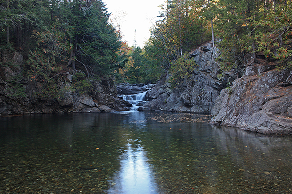 Huston Brook Falls (Best Swimming Holes in New England)
