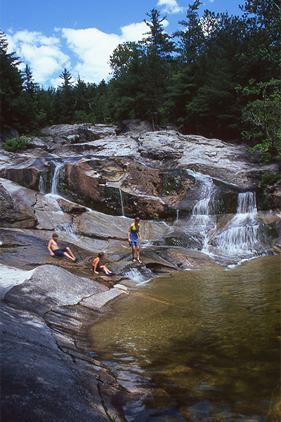 Step Falls (Best Swimming Holes in New England)