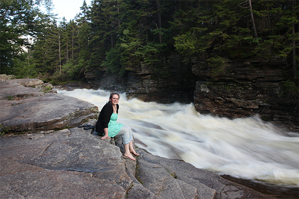 Lower Ammonoosuc Falls (Best Swimming Holes in New England)