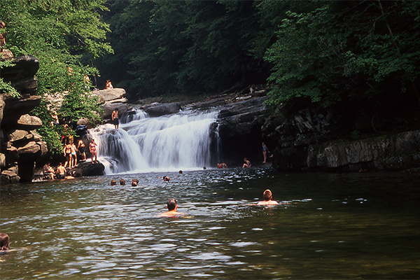 Bartlett Falls (Best Swimming Holes in New England)