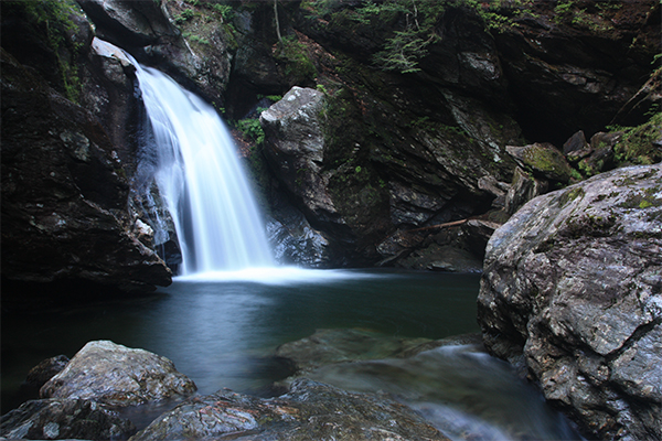 Bingham Falls (Best Swimming Holes in New England)
