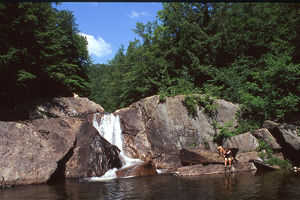Buttermilk Falls (Ludlow) (Best Swimming Holes in New England)