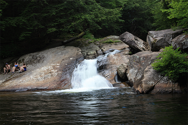 Pikes Falls (Best Swimming Holes in New England)