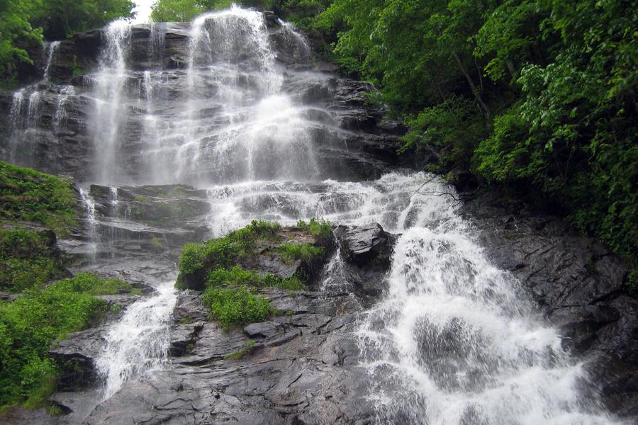 Top 100 Waterfalls of the US > Amicalola Falls, Georgia