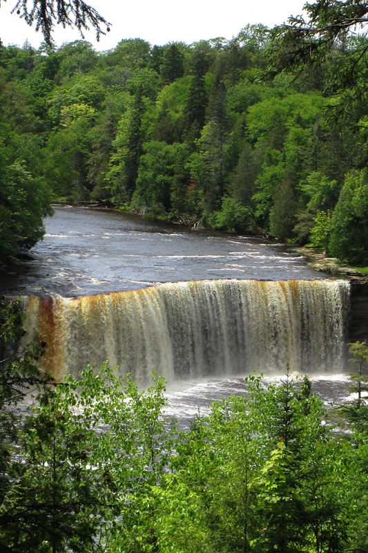 Tahquamenon Falls-Upper Falls, Michigan