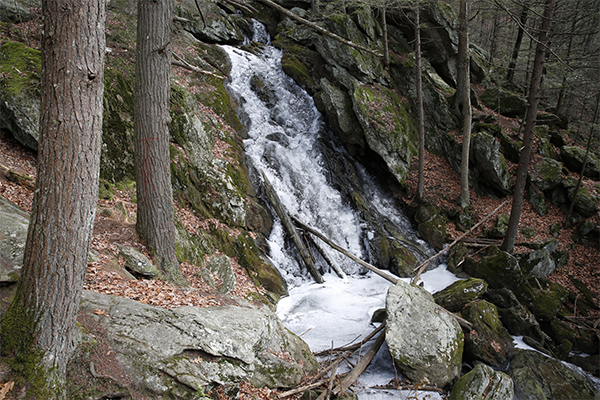 Buttermilk Falls-Plymouth, Connecticut