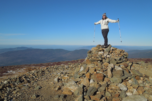 summit of Mt. Eisenhower