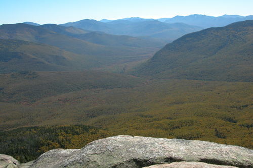 views of the Pemi from Mt. Garfield
