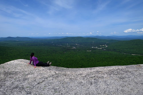 views of Twin Mountain from Middle Sugarloaf