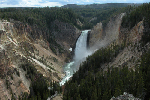 Lower Falls of the Yellowstone, Wyoming
