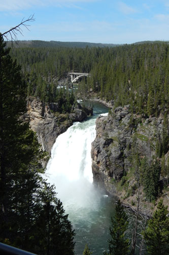Upper Falls of the Yellowstone, Wyoming