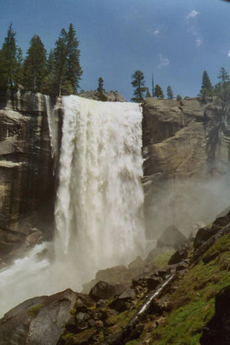 Vernal Fall, California