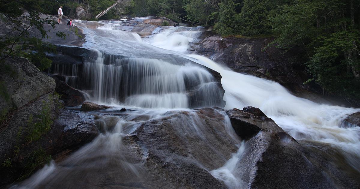 Pond Brook Falls New Hampshire