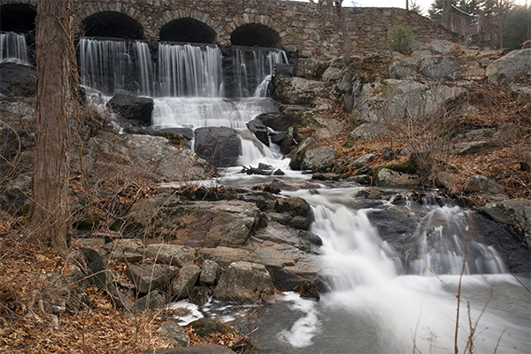 Waterfalls near Great Barrington, Massachusetts