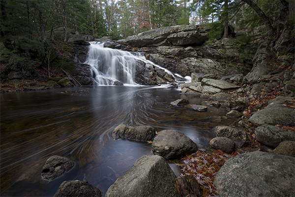 Lower Purgatory Falls, Mont Vernon/Lyndeborough, New Hampshire