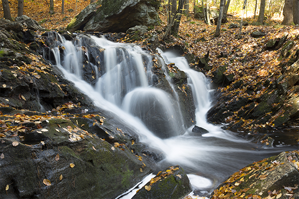 Senter Falls, Lyndeborough, New Hampshire
