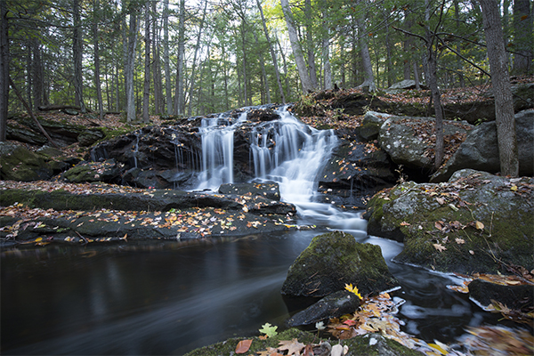Tucker Brook Falls, Milford, New Hampshire