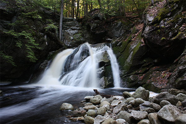 Upper Purgatory Falls, Mont Vernon/Lyndeborough, New Hampshire